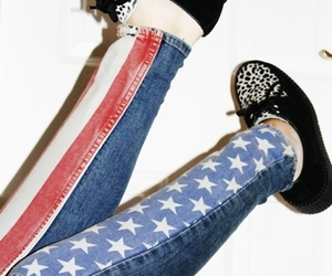 usa, creepers, and shoes image
