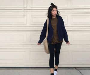 bag, girls, and outfits image