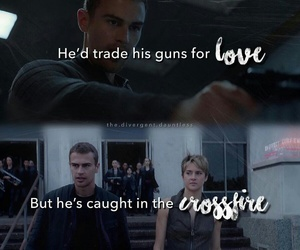 insurgent, divergent, and fourtris image