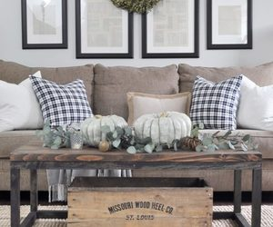 decor, living room, and fall image