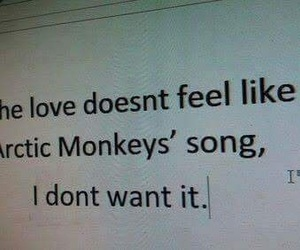 arctic monkeys and love image