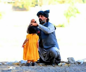 afghan, daughter, and love image