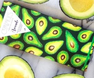 avocado, bright, and chocolate image