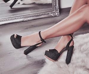 girl, clothing, and heels image
