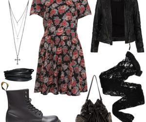 dress, grunge, and outfits image