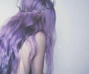 aesthetic, alternative, and lavender image