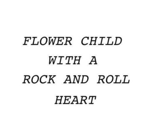 quotes, flower child, and flowers image