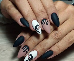 nails, kylie jenner, and kylie nails image