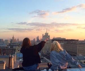 friends, beautiful, and city image