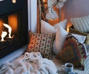 cozy, autumn, and fall image