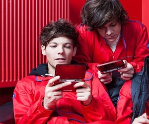 one direction, larry stylinson, and Harry Styles image