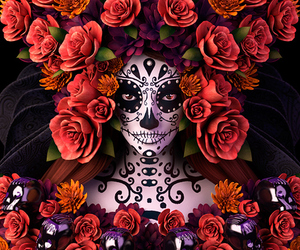 art and day of the dead image