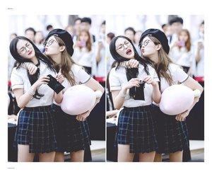 kpop, pinky, and pledis girl image
