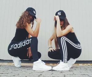 adidas, fashion, and friends image
