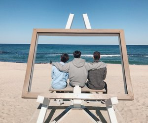 beach, JR, and ren image