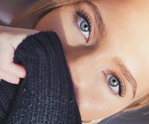 eyes, makeup, and natural image