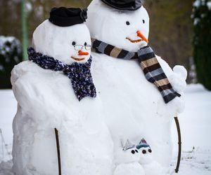 winter, holidays, and snow image