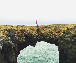 alone, amazing, and cliffs image