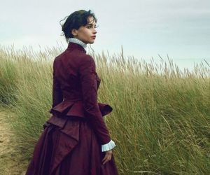 Felicity Jones and victorian image