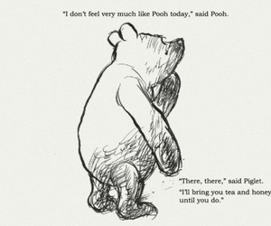 Pooh bear, quote, and whinnie the pooh image