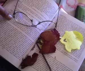 amor, libros, and red image
