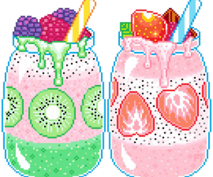 pixel, kawaii, and cute image