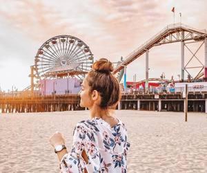 beach, sea, and fun image