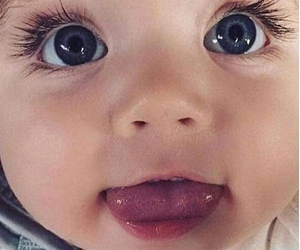 baby, eyes, and kids image