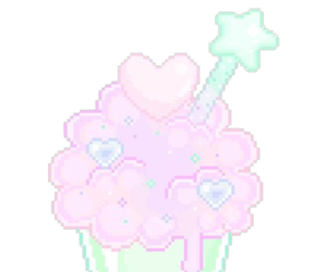 cute food, kawaii, and pixel image