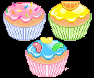 pixel, cupcake, and kawaii image