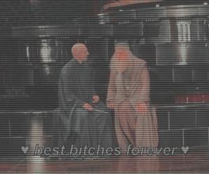 dumbledore, harry potter, and voldemort image
