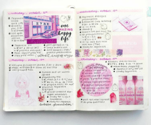 college, idea, and journal image