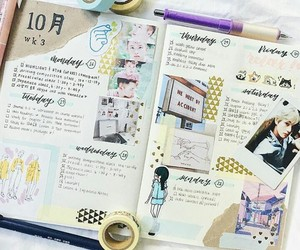 idea, journal, and notebook image