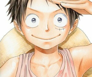 one, piece, and luffy image