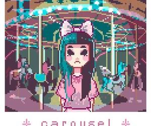 melanie martinez, pixel, and carousel image