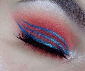 eye makeup, eyeshadow, and mekeup image