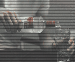 grunge, alcohol, and vodka image