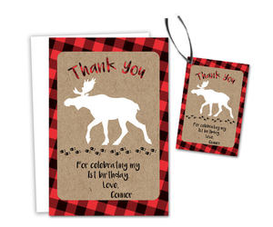 etsy, thank you cards, and party tags image