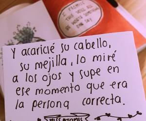 amor, frases, and momento image