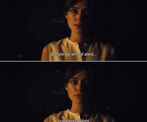 quotes, keira knightley, and lost stars image