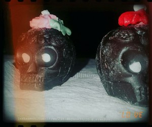 candy skull, dia de muertos, and 💀 image
