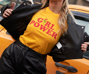 girl, girl power, and yellow image