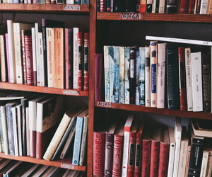 aesthetic, alternative, and biblioteca image