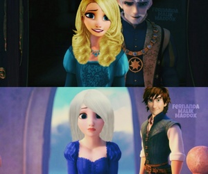 frozen, rapunzel, and how to train your dragon image