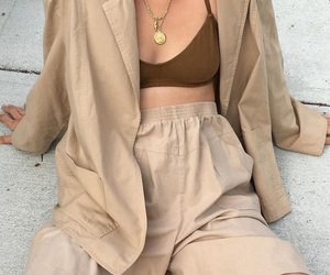 beige and fashion image