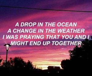quotes, grunge, and together image
