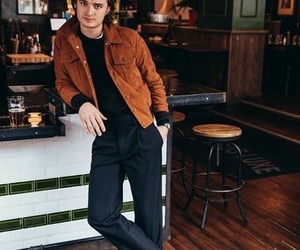 joe keery, stranger things, and steve harrington image