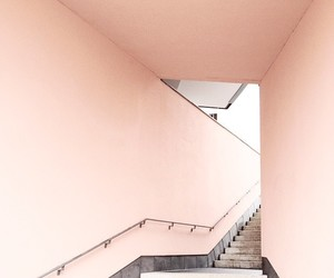 architecture, pink, and rose gold image