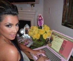 kim kardashian, kim kardashian west, and meme image