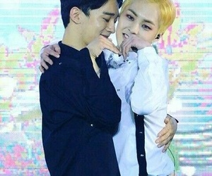 exo and xiuchen image